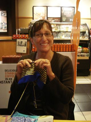 Oct 2 knitting night 003
