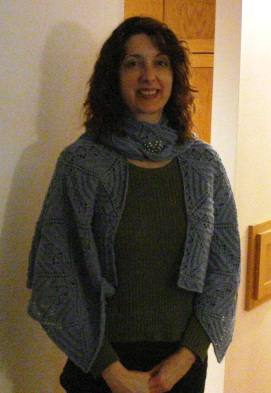 Mittens and shawl 003
