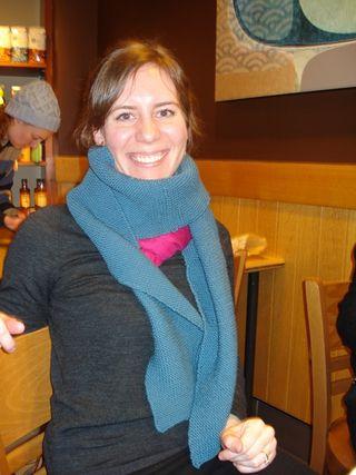 Kristin's scarf